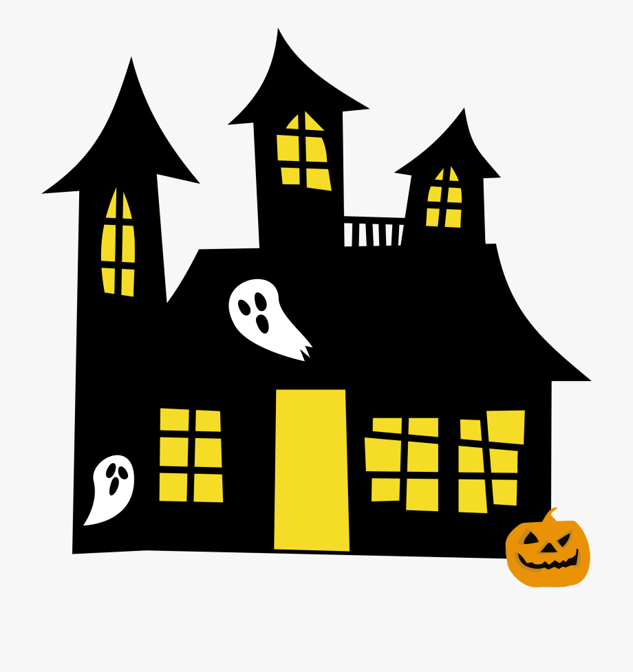Clip art free cliparts. House clipart halloween