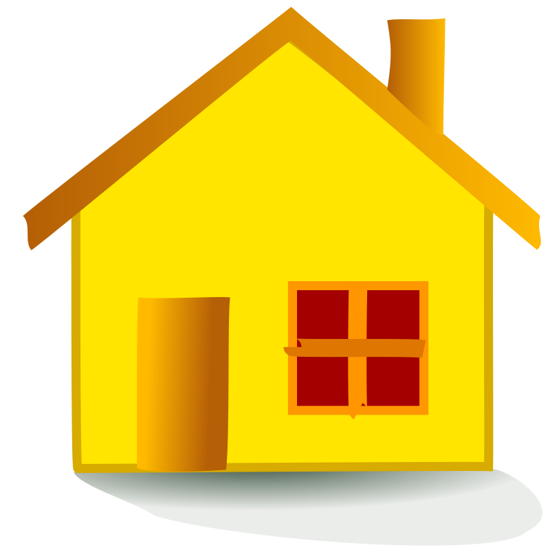 Clipart home holiday home. House free stock photo