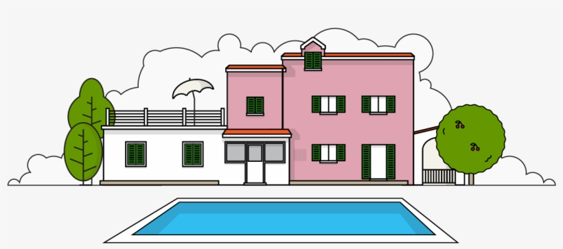 House x png . Clipart home holiday home