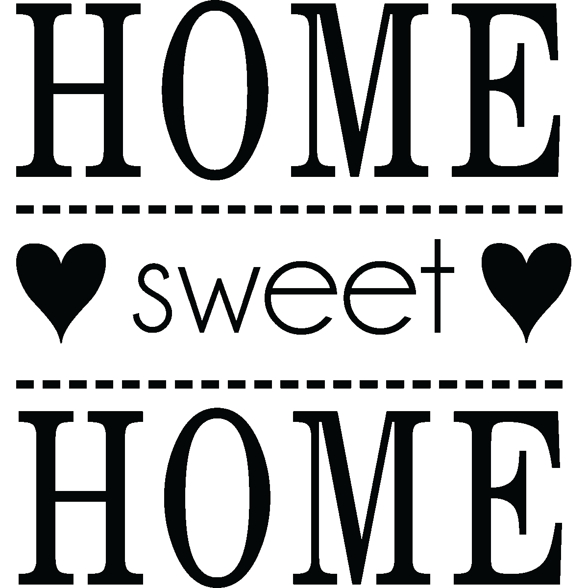Logo png . Clipart home home sweet home