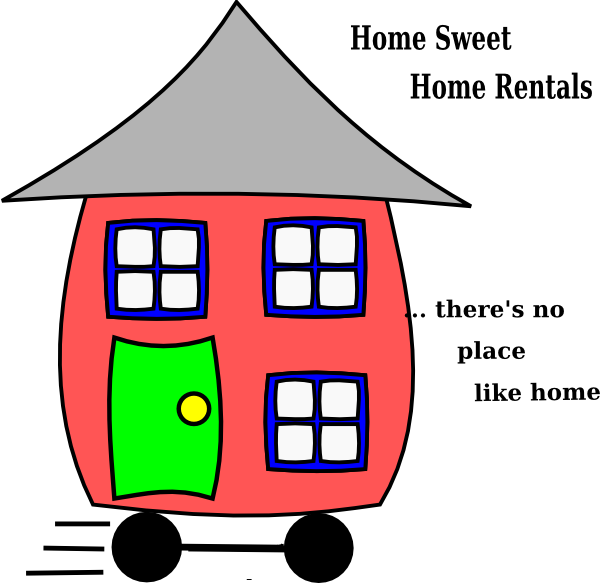 Clip art at clker. Clipart home home sweet home