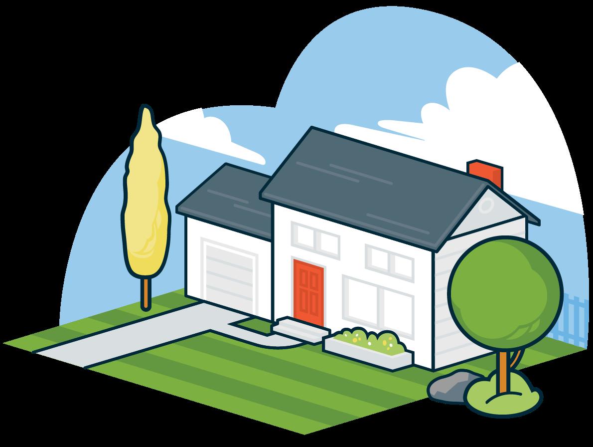 Jobber field service management. Clipart home home visit