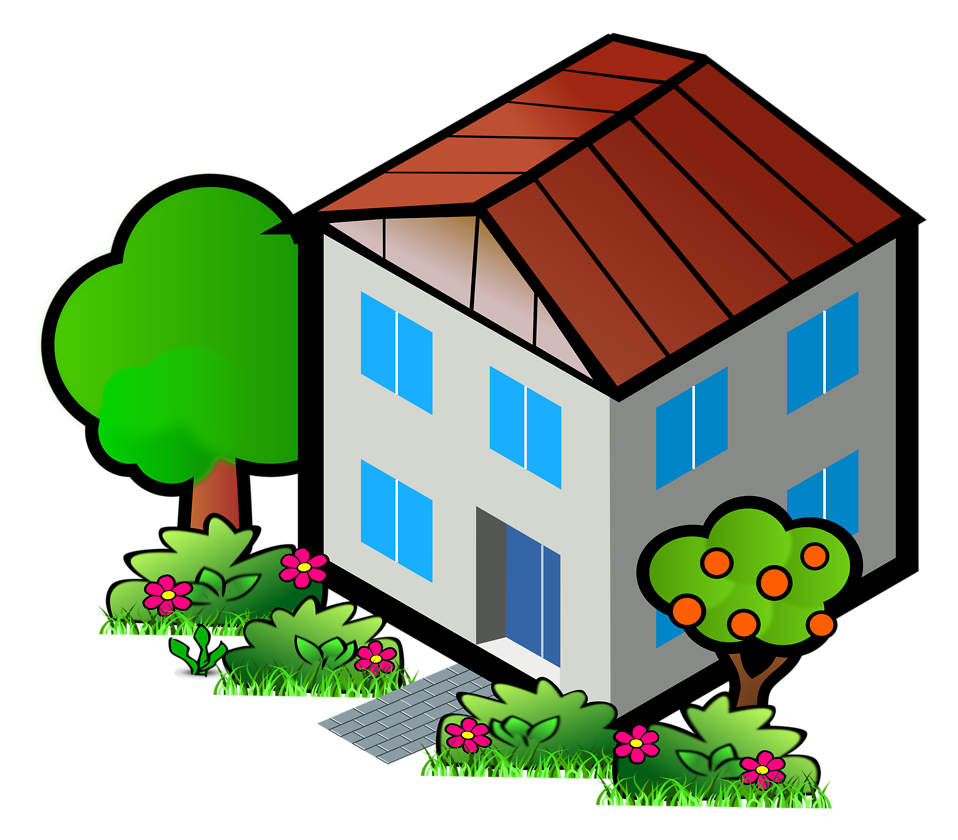 Up clipart house. Developers expect housing sales