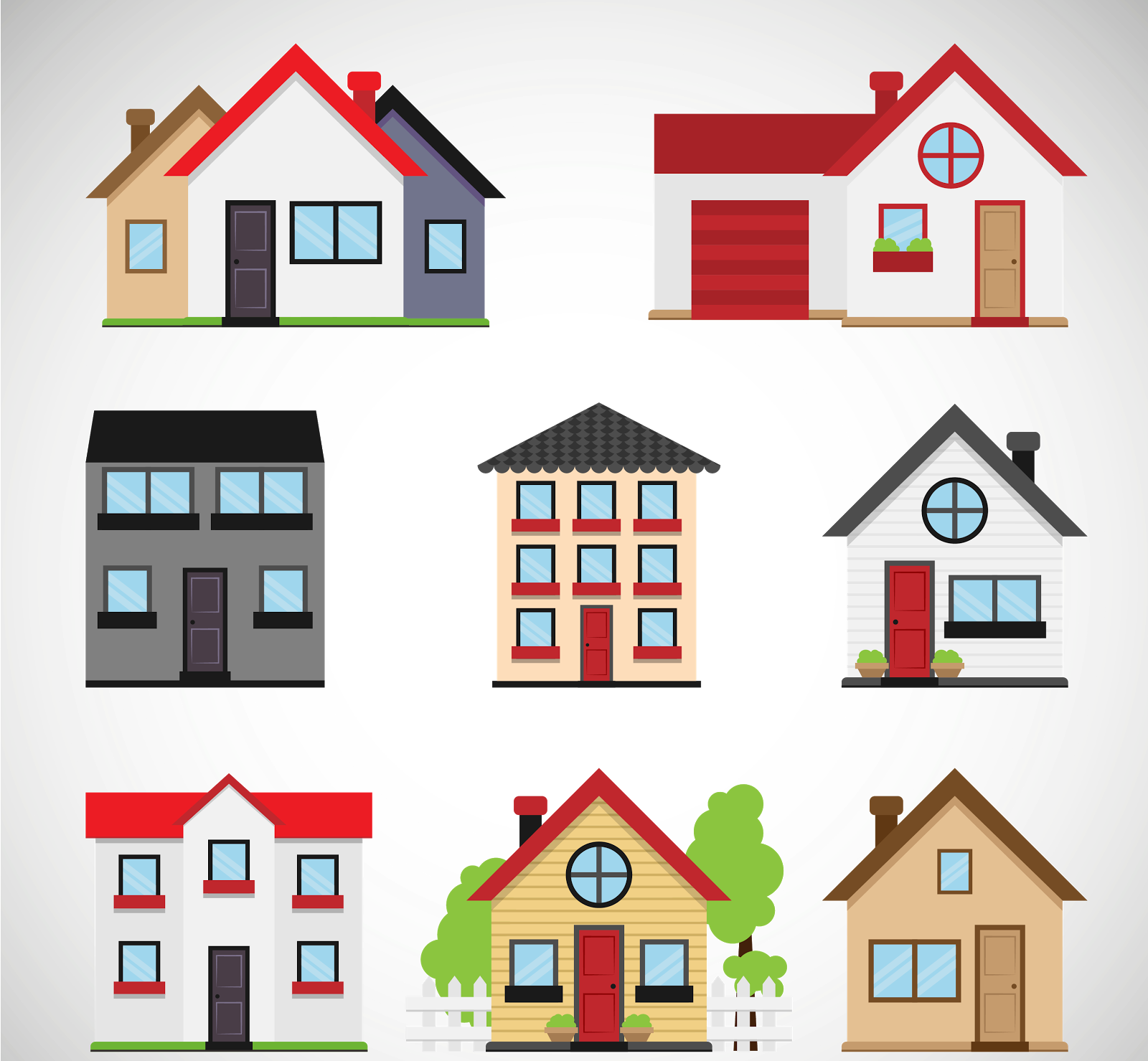 Legal and non responses. Clipart home housing development