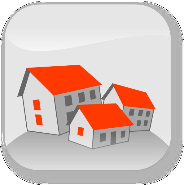 Community houses clip art. Clipart person house