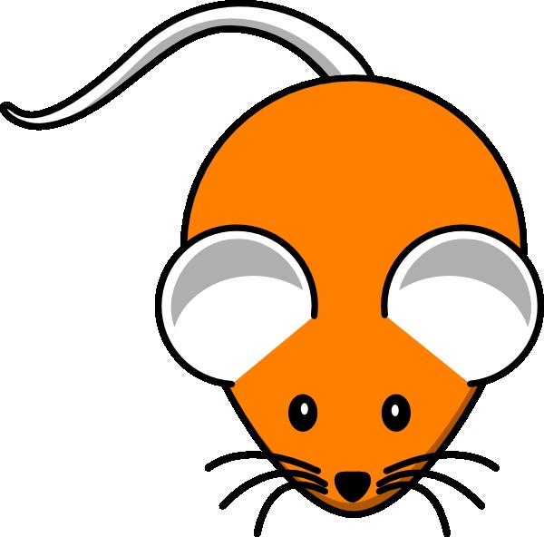 Orange clip art at. Mouse clipart home