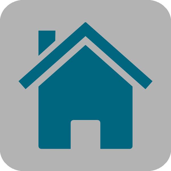 Home clip art at. Square clipart icon