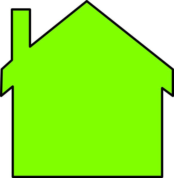 Home clipart outline. New house clip art