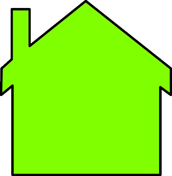 New outline clip art. House clipart vector