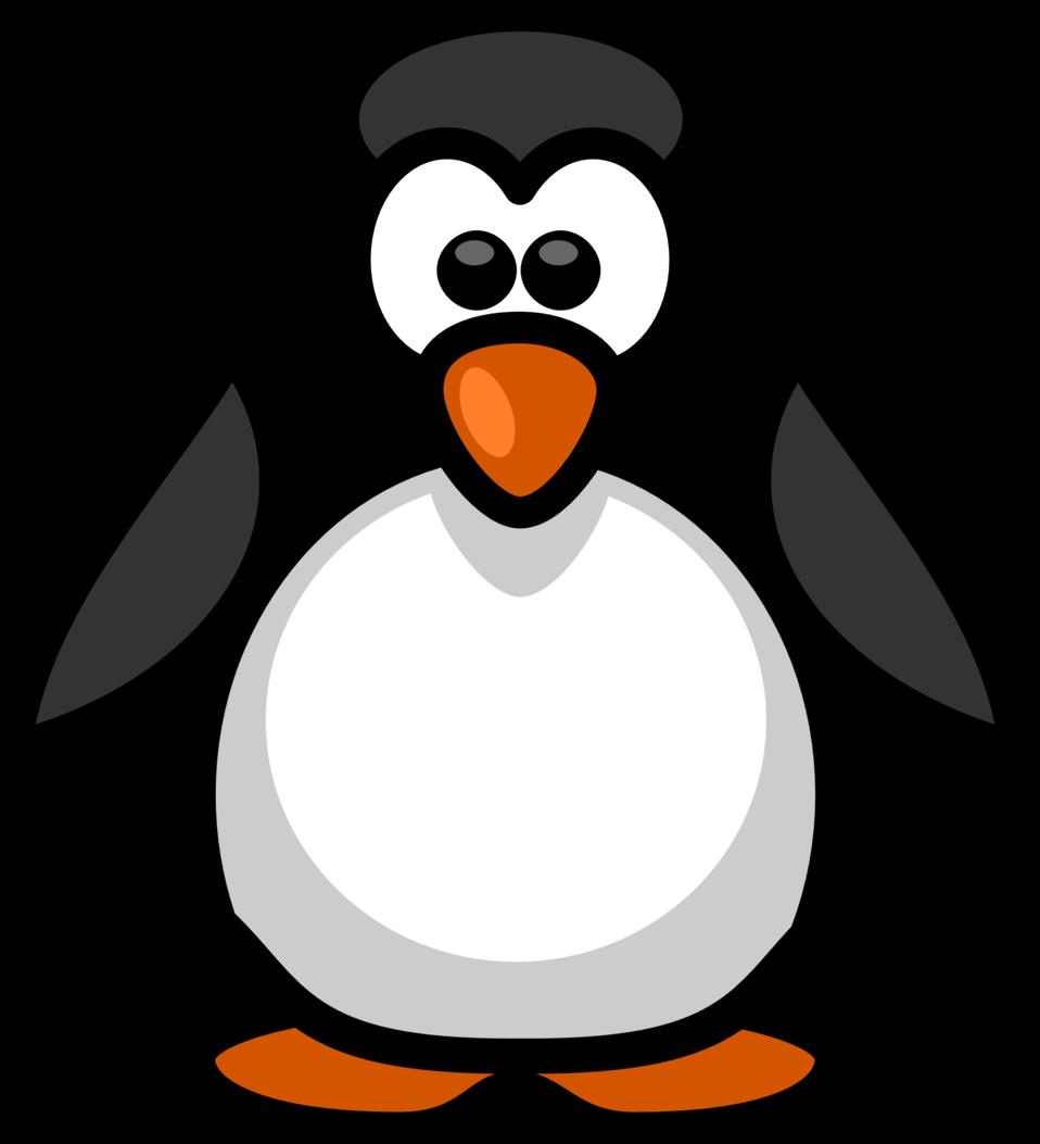 Clipart penquin pengui. Public domain clip art