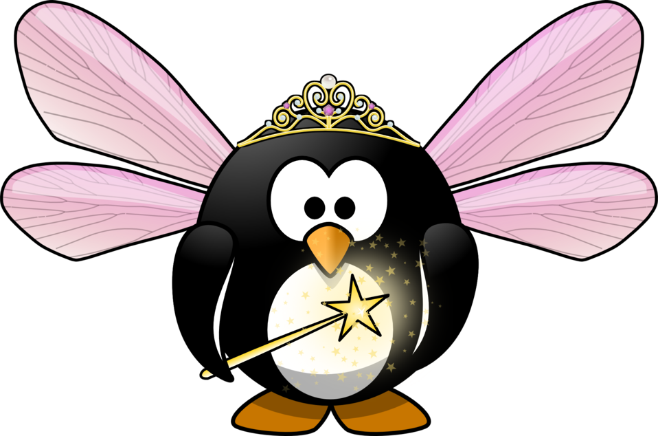 Public domain clip art. Clipart penguin little penguin
