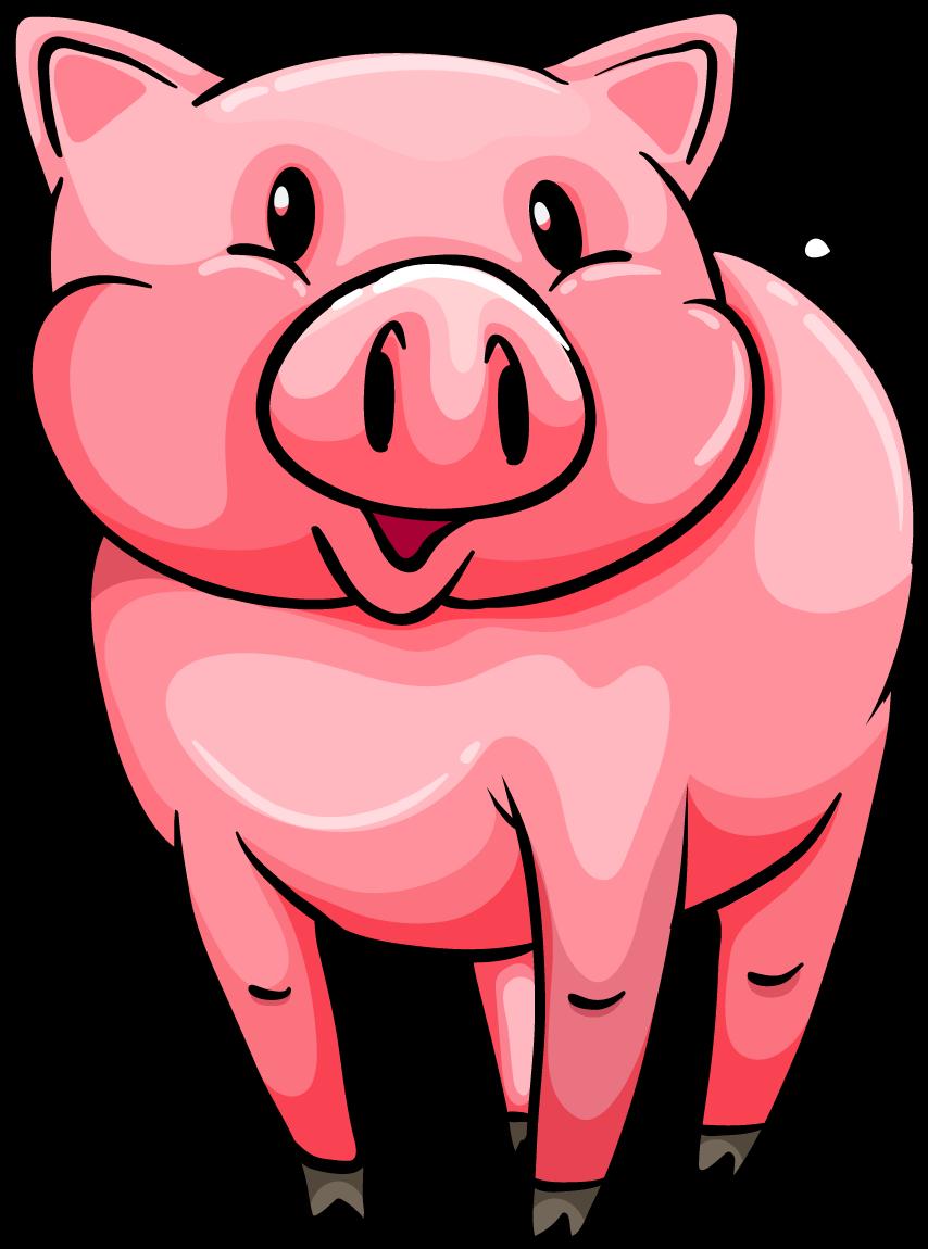 Png transparent free images. Pig clipart mud