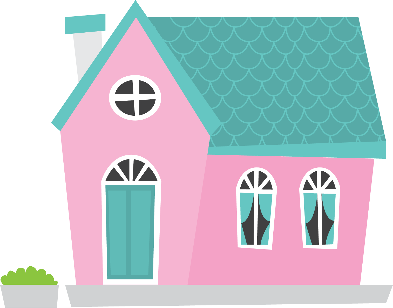 Home clipart pink. Png transparent free images