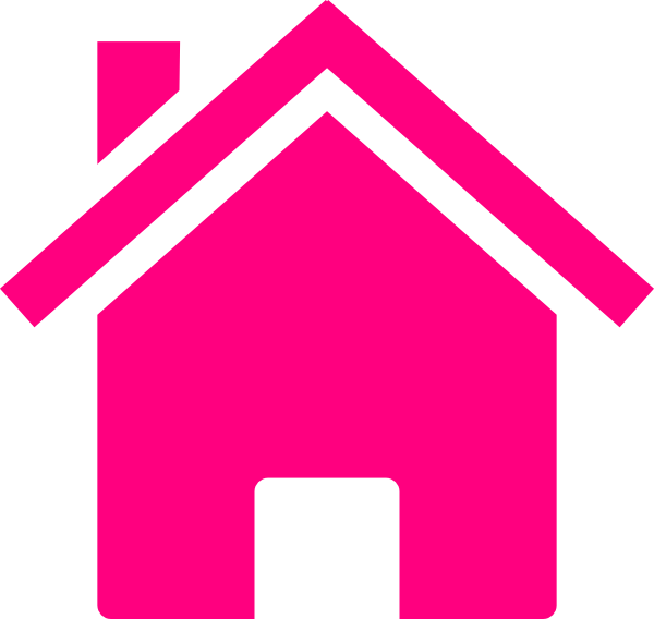 Pink house png. Clip art at clker