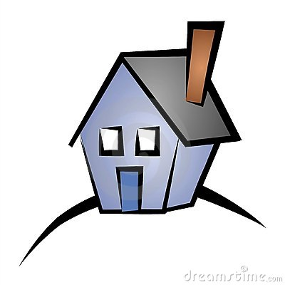 Real estate clip art. Clipart home property