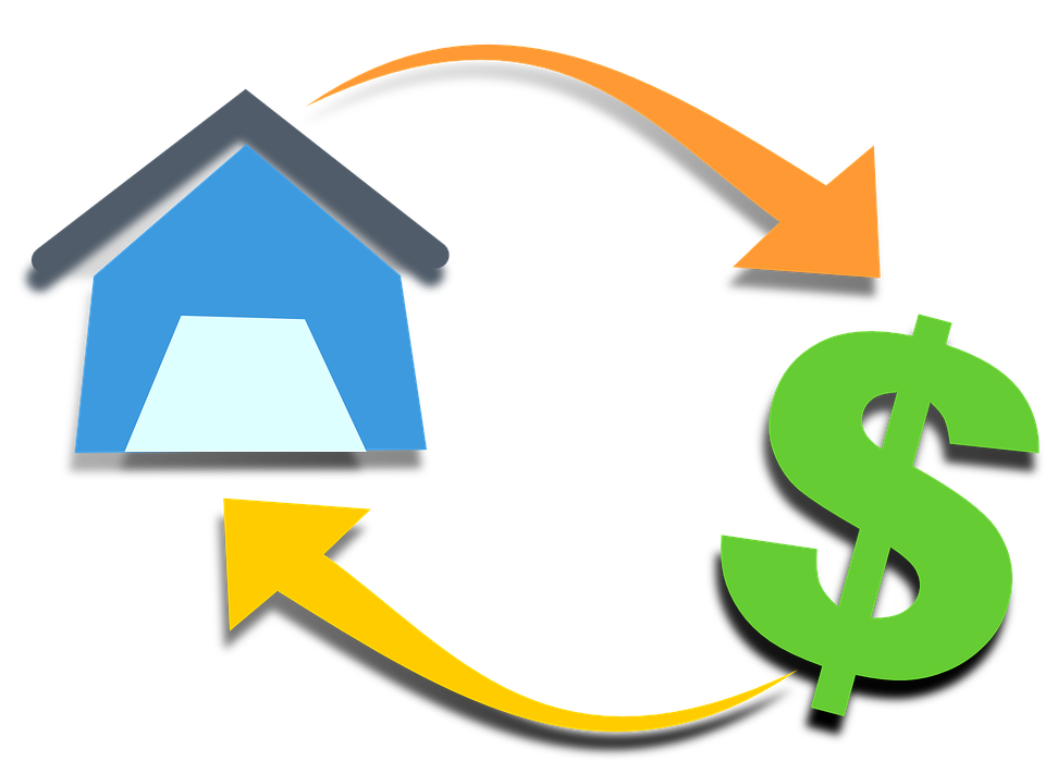 Clipart money investment. Affordable housing or the