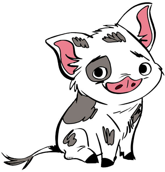 Moana clipart character animal disney. Rat free download best