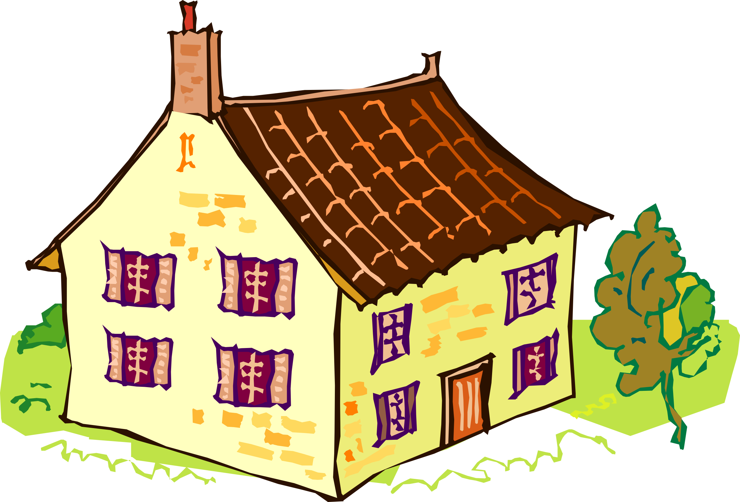 Cottage clipart hause. House big image png