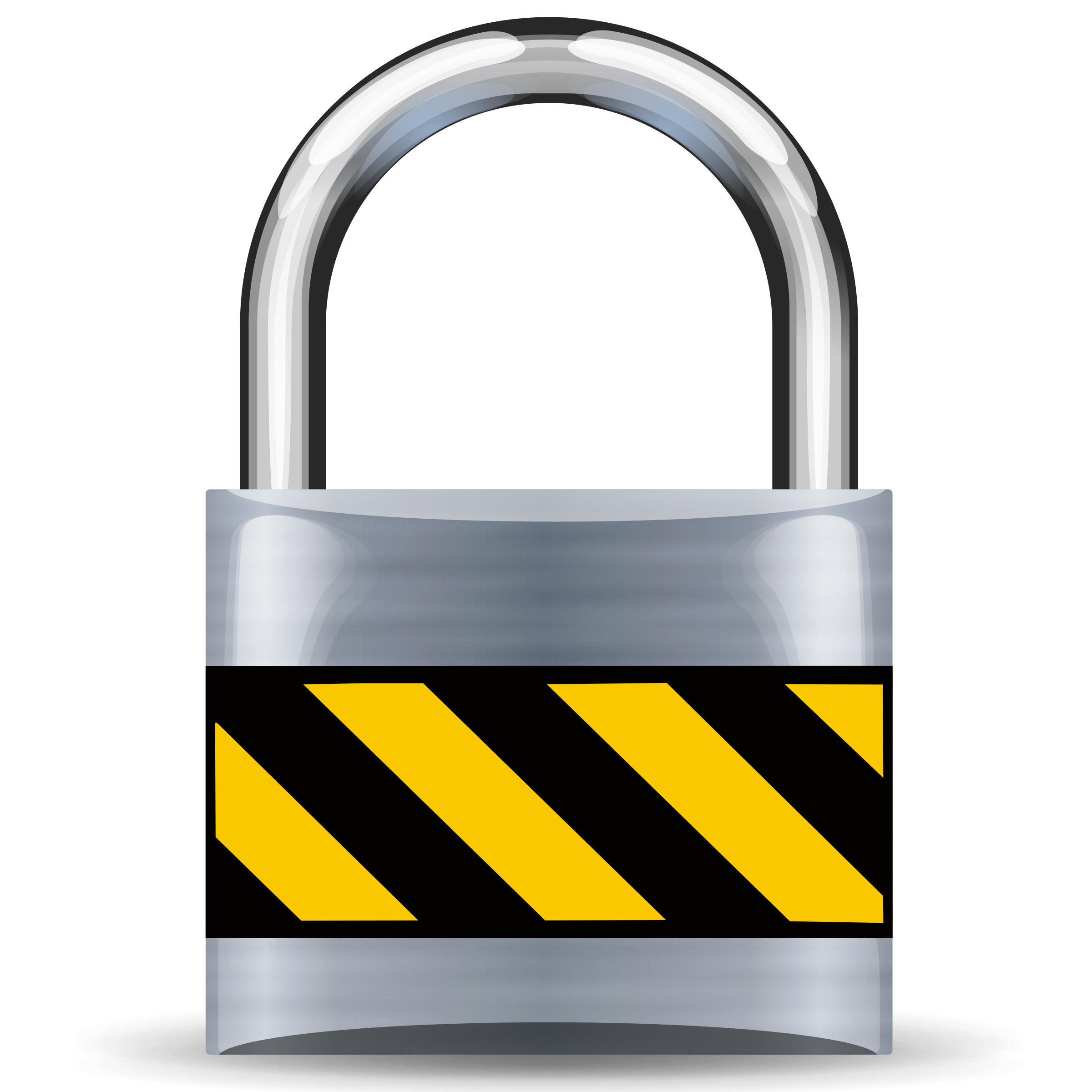 Lock security clipground. Safe clipart silver