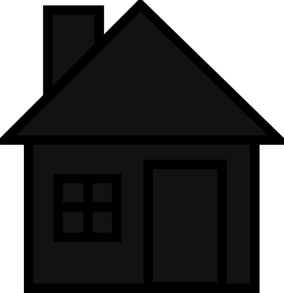 House silhouette png. Clip art at clker