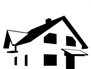 House clipart silhouette. Free download best