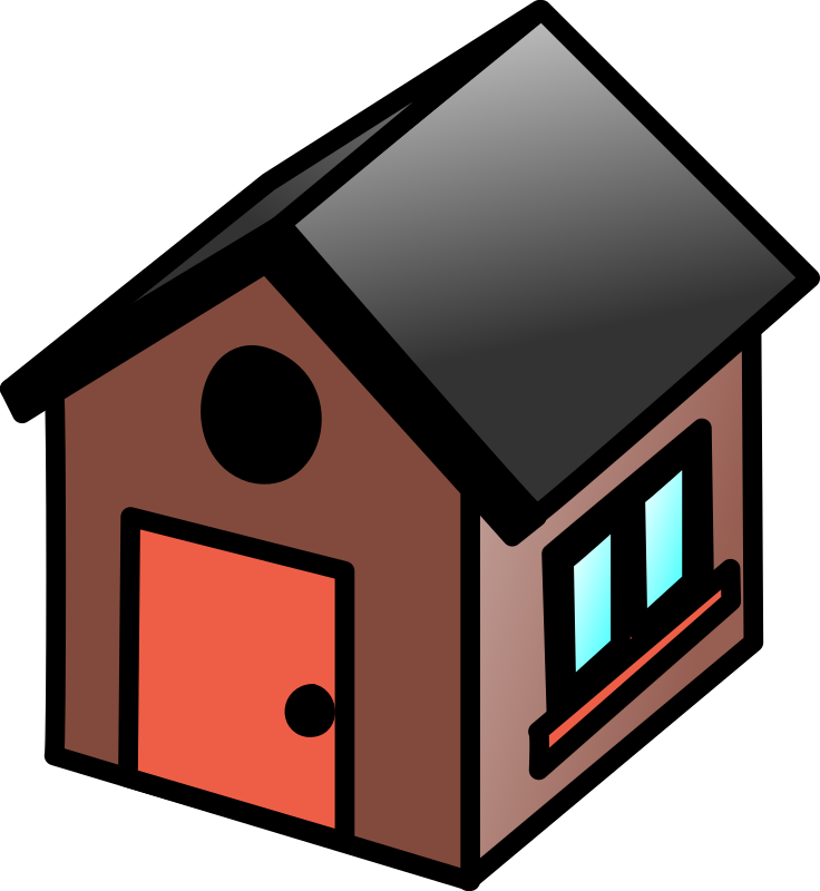 House clipart small. Free clip art bay