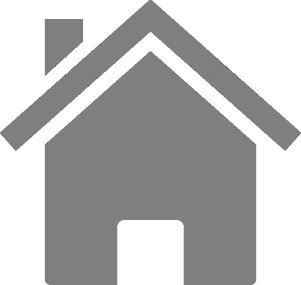 Houses clipart grey. Simple house clip art