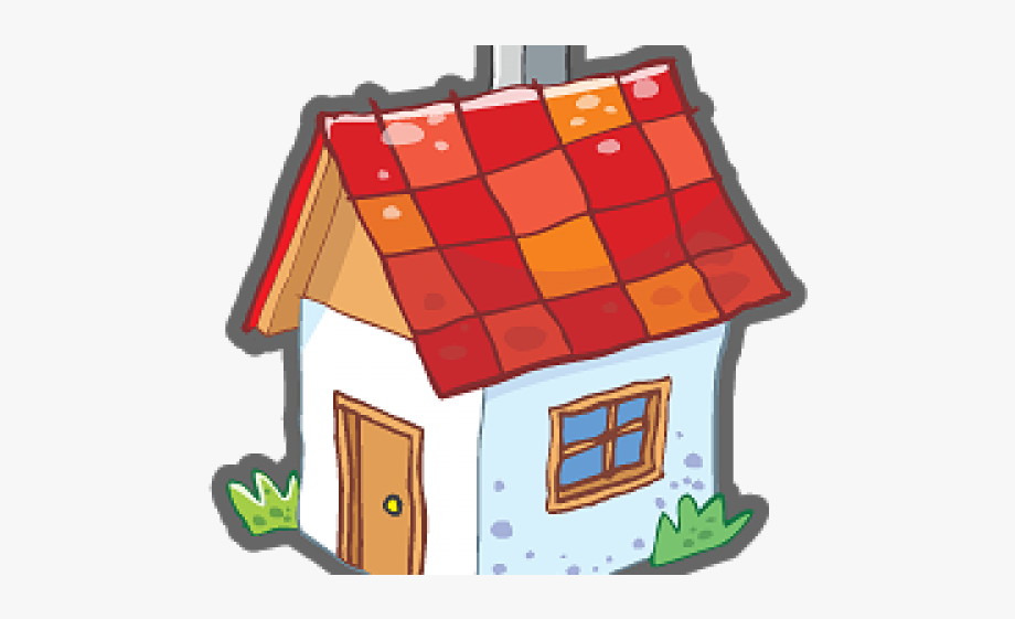 Small home icon free. Cottage clipart tiny house