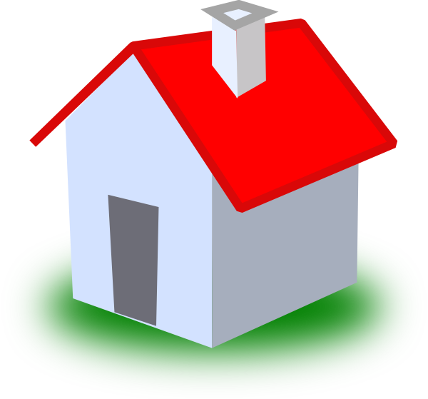 Clip art at clker. Home clipart small house