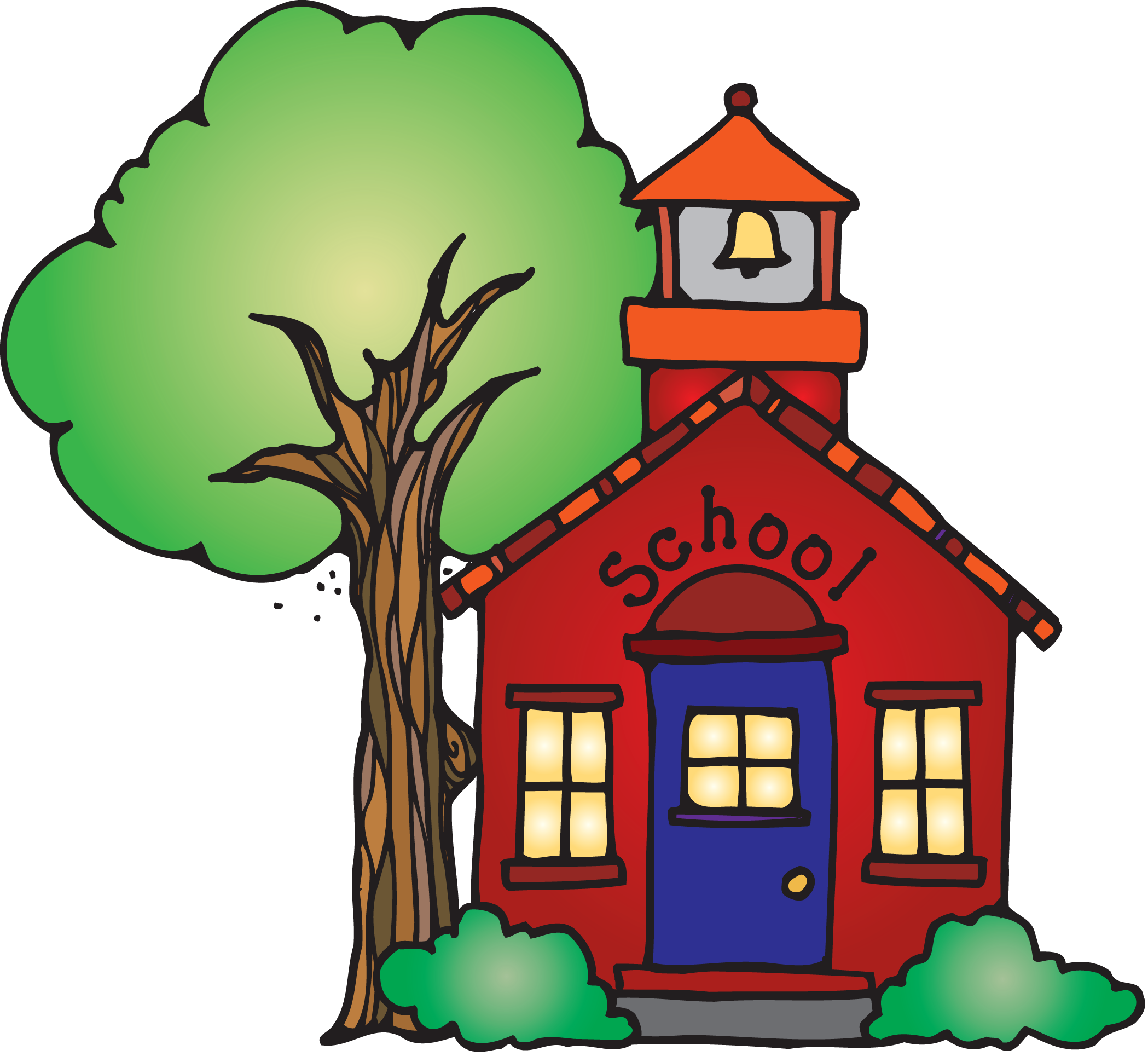 Clipart school spring. No collection elementary background