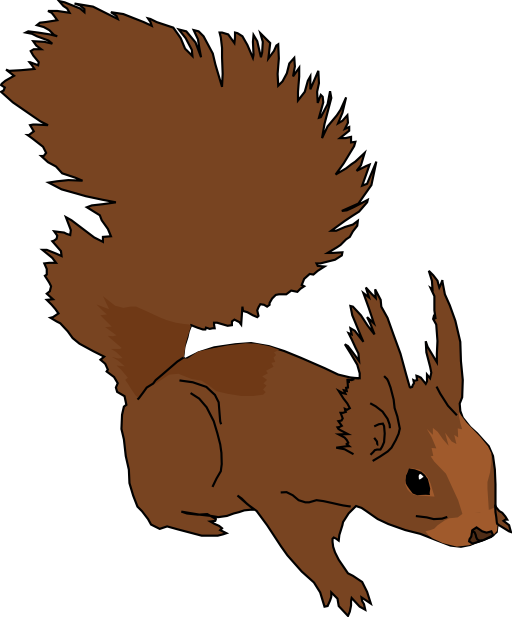 Home clipart squirrel. I royalty free public