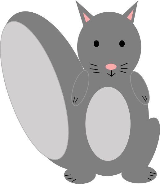 Smile clip art at. Home clipart squirrel