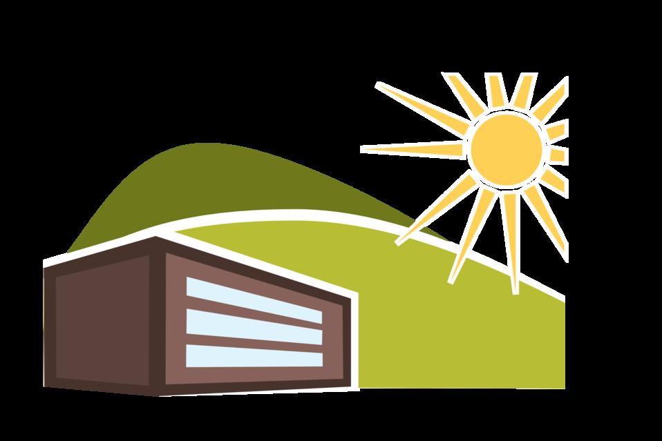 Sunny clipart illustration. Public domain clip art