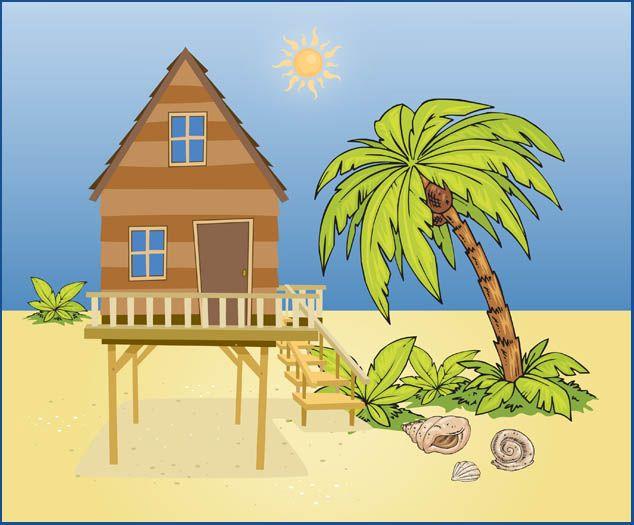 Web design development a. House clipart summer