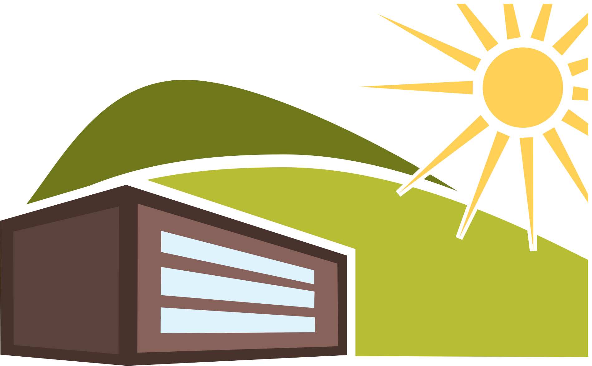 Sunny clipart sign. Summer house big image