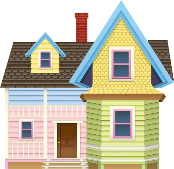 clipart house scenery