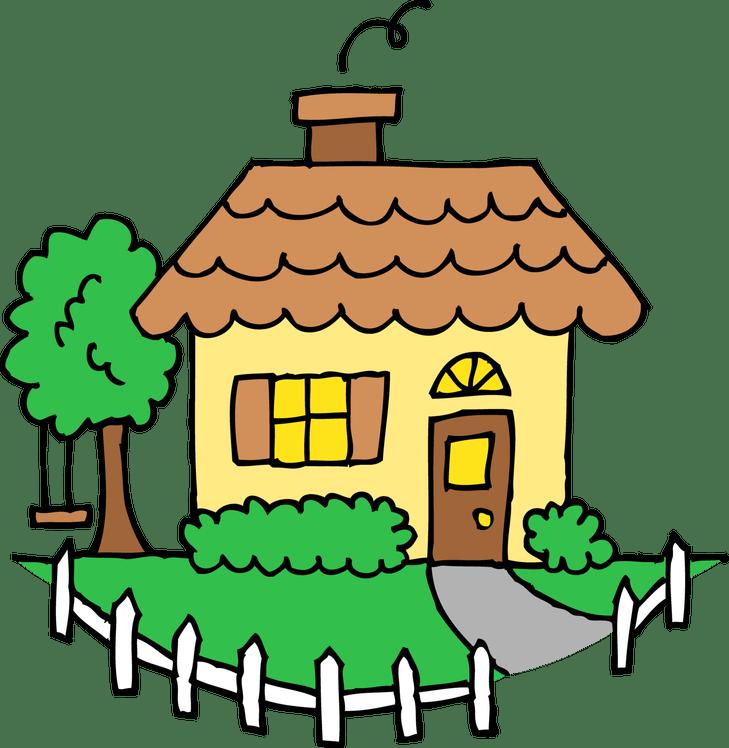 Divorce more than four. Cottage clipart house lot