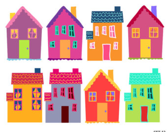 clipart home townhouse