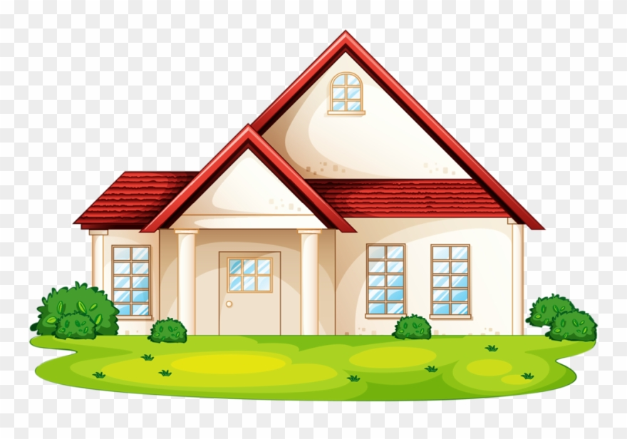 color build your. House clipart colored