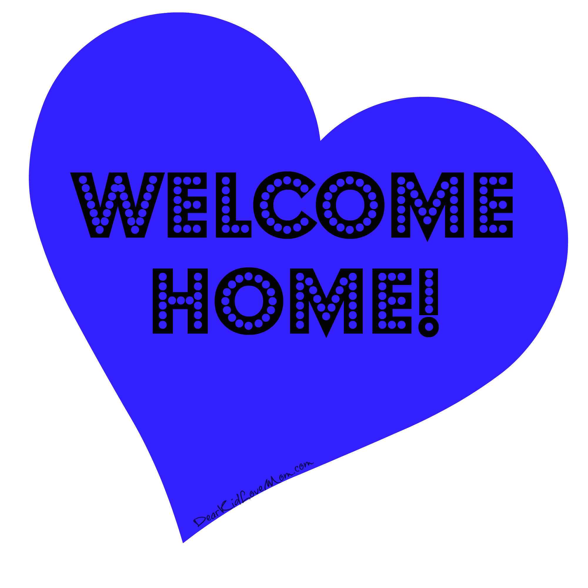 Clipart home welcome home.  things every college