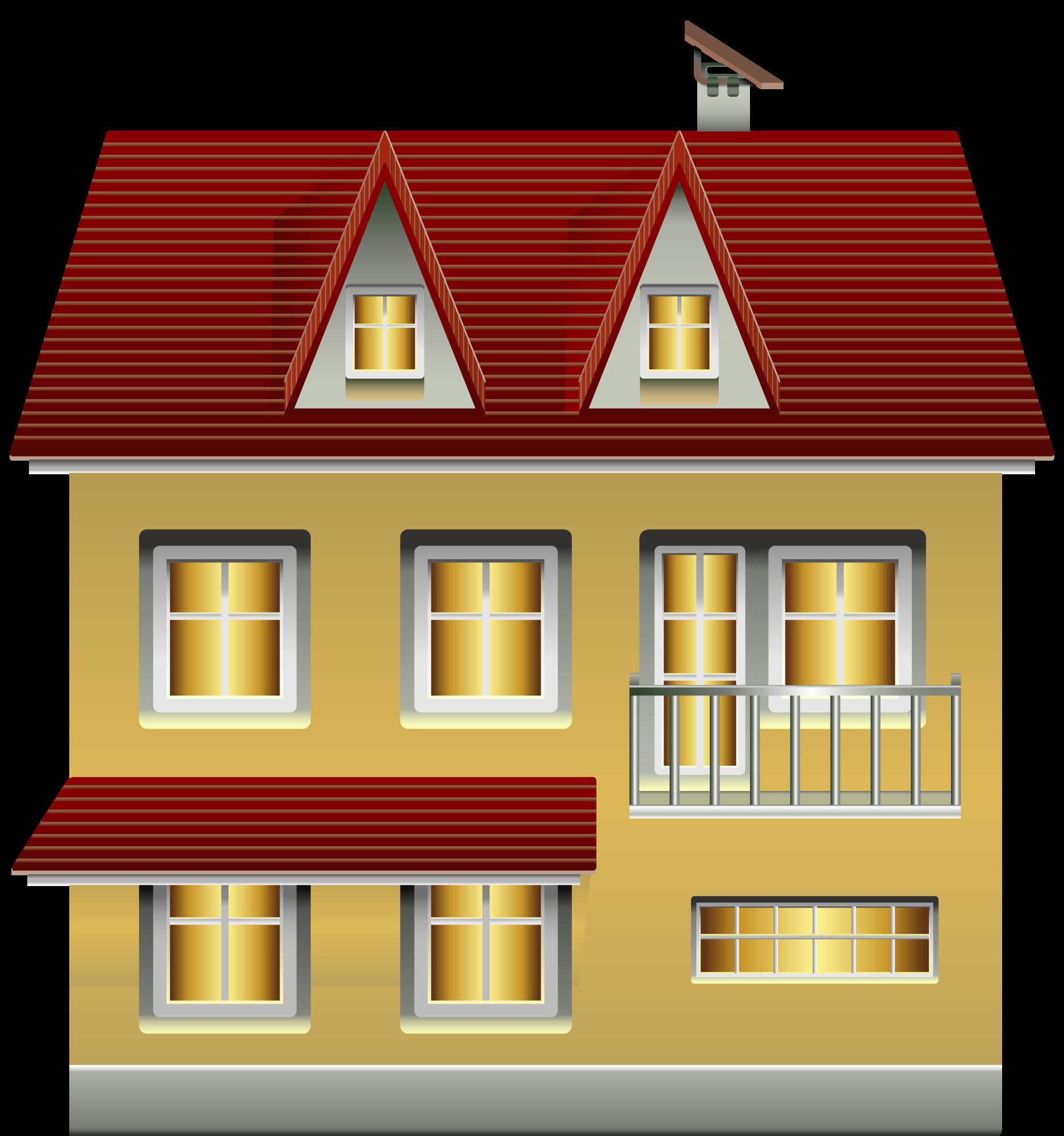 House clipart emoji. Yellow png clip art