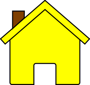 House free homes graphics. Houses clipart yellow