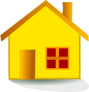 Free house cliparts download. Houses clipart yellow