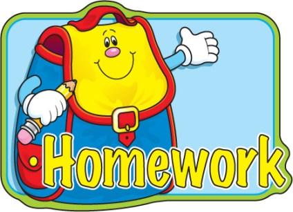 Clipart homework. Summer holiday jokingart com