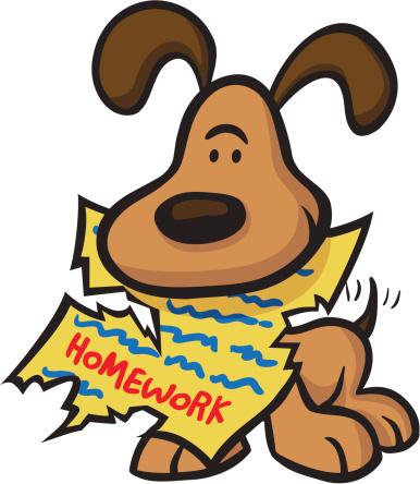 Clip art for kids. Clipart homework