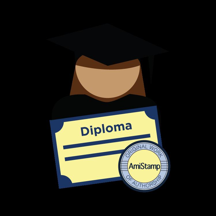 Avoiding website ate my. Diploma clipart official document