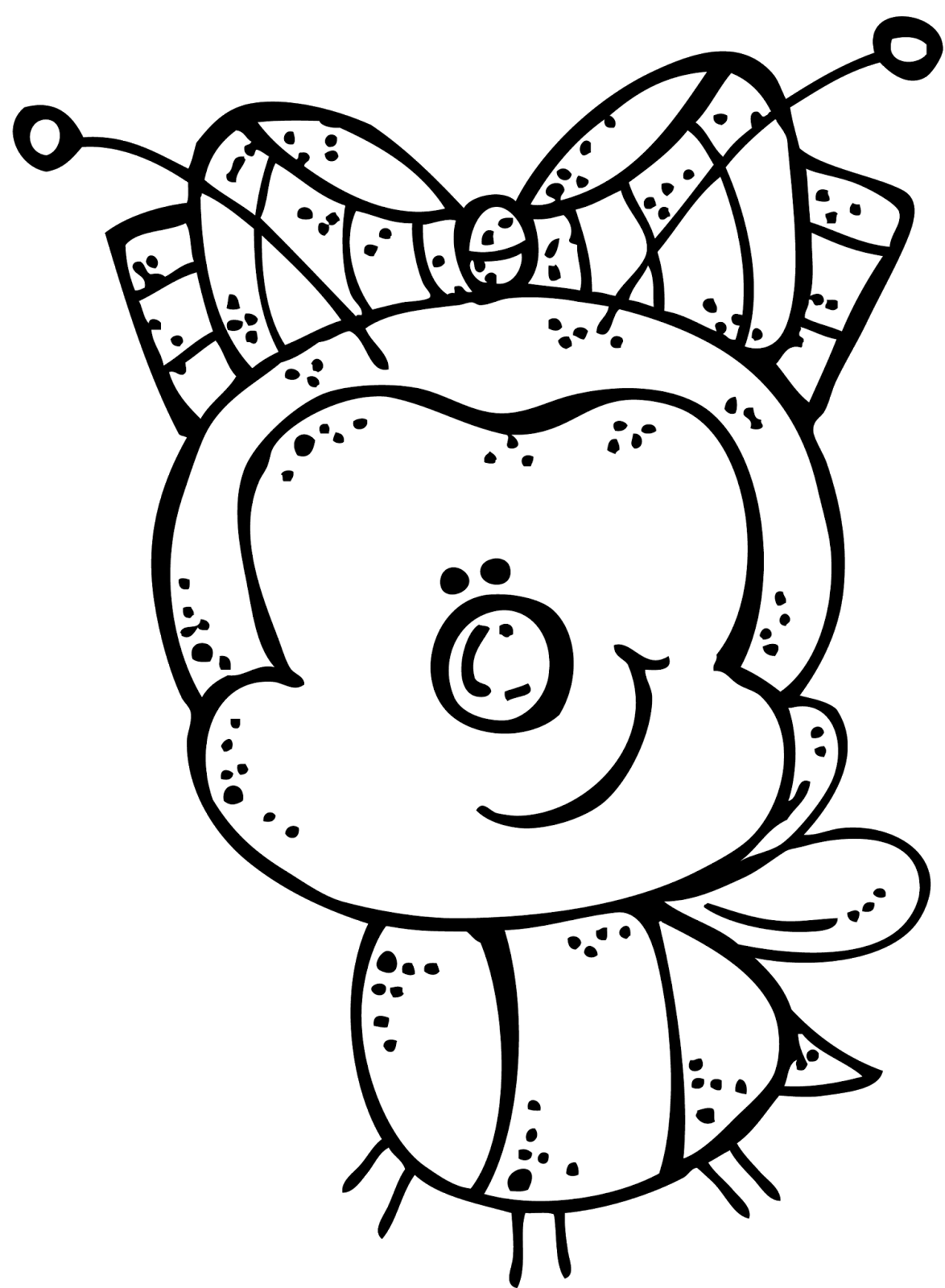 Melonheadz illustrating day only. One clipart bold