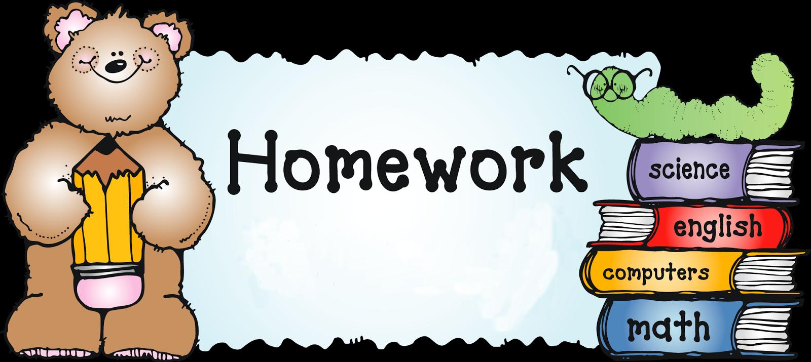 Clipart homework english homework. Mrs rogers nd grade