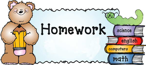 Clipart homework english homework. Gonzalez jennifer