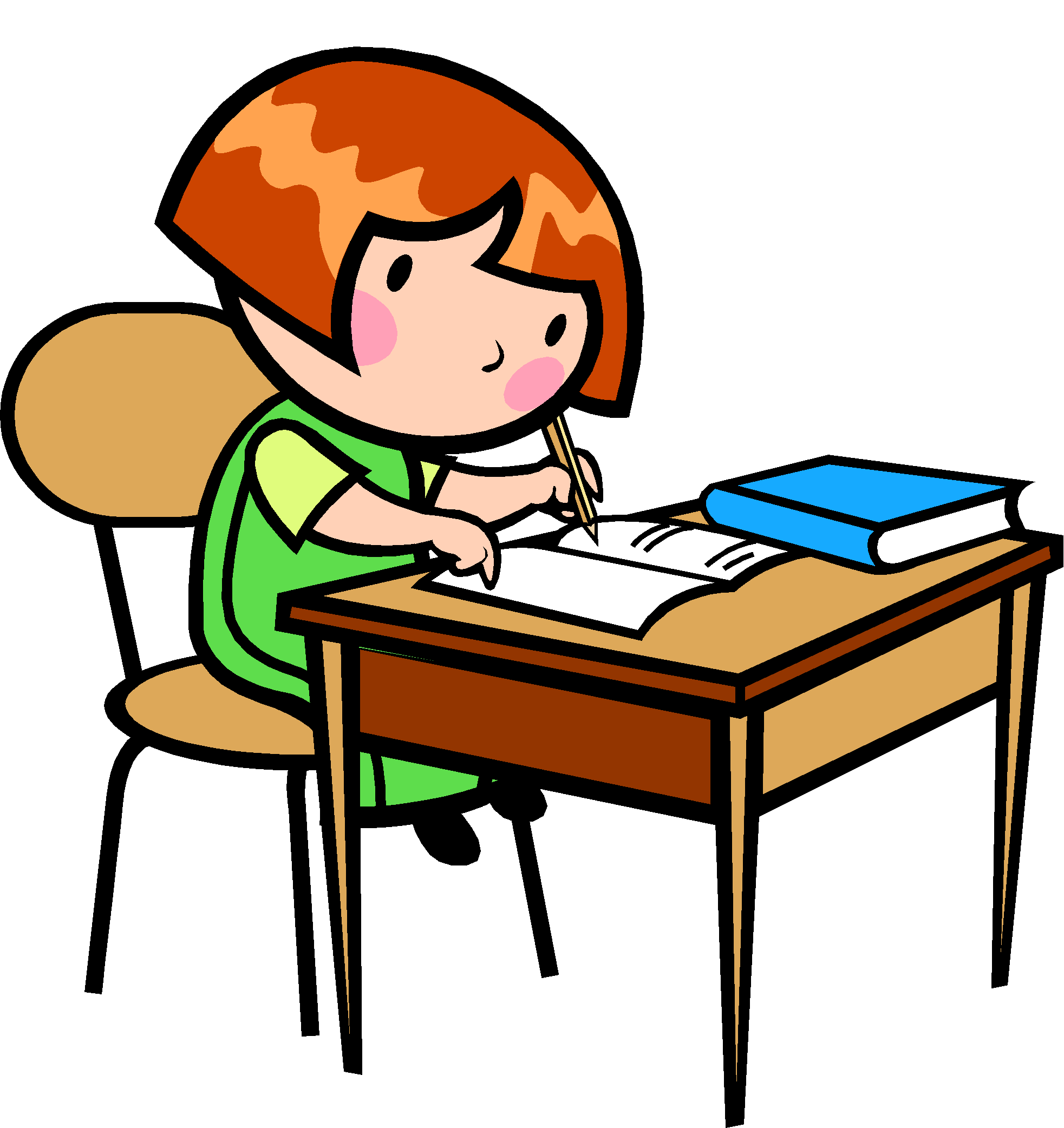 Free images of children. Writer clipart kindergarten writing